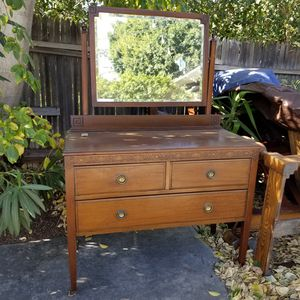 Antique wooden dresser for Sale in Westminster, CA