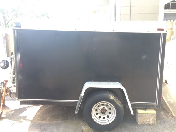 1994 Doolittle enclosed trailer. Approximately 8x4x5 & 2000lbs