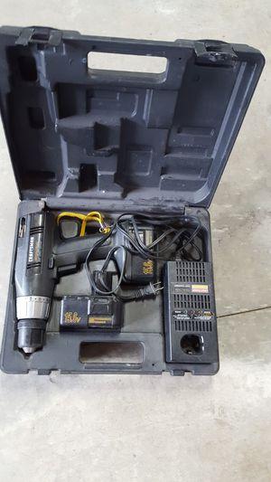 Craftsman 15.6 volt drill driver set for Sale in Clinton, IL