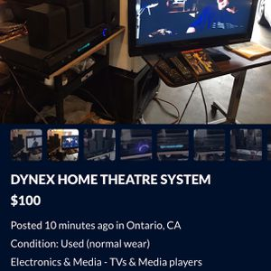 NOT FREE*COMPLETE HOME THEATRE SYSTEM for Sale in Ontario, CA