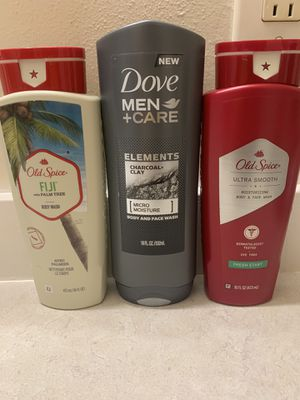 ❤️ NEW MENS BODY WASH ❤️ DOVE & OLD SPICE ❤️ for Sale in Tacoma, WA