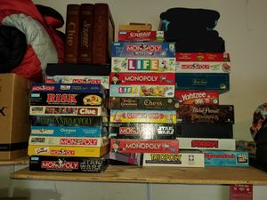Hasbro and other board games for Sale in Hillsboro, OR