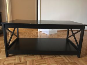 Black Wood Coffee Table for Sale in Washington, DC
