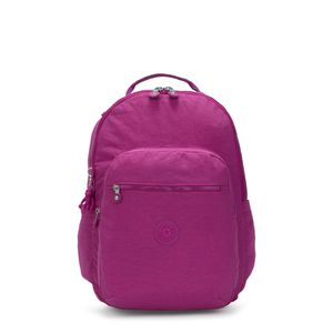 "KIPLING SEOUL LARGE 15"" LAPTOP BACKPACK BRIGHT PINK for Sale in Tamarac, FL"