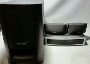 Bose 3-2-1 Series II DVD/CD Player Media Center with 2.1 Powered Speaker System for Sale in House Springs, MO