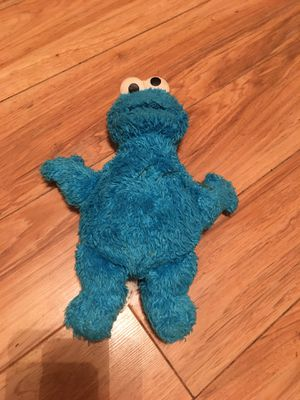 Cookie Monster plush stuffed toy doll for Sale in Biloxi, MS