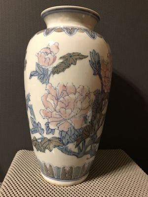 Antique Hand Painted Chinese Porcelain Vase for Sale in Kennesaw, GA