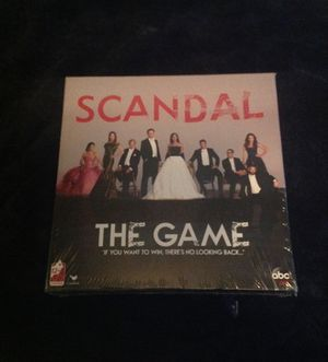 Scandal The Game Board Game for Sale in Bowie, MD