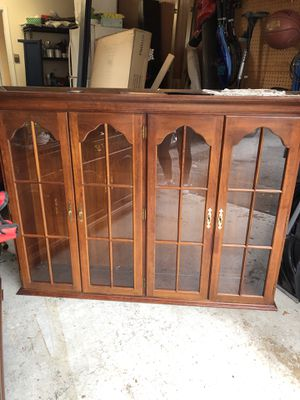 China Cabinet Free (must pick up) for Sale in Rockville, MD
