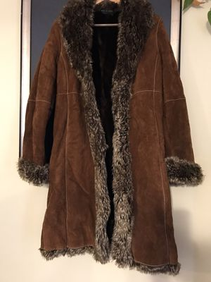 Wilson leather long coat for Sale in Potomac, MD