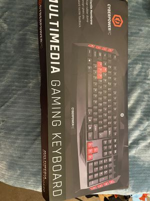 Cyberpowerpc gaming keyboard!! for Sale in Suisun City, CA