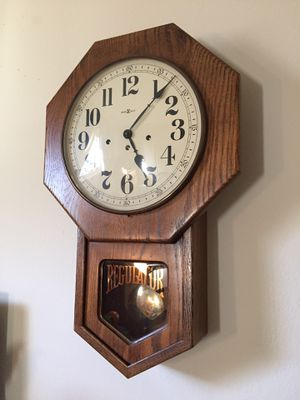 Howard Miller westminster chime mechanical wall clock for Sale in Hayward, CA