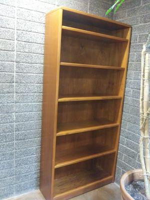 Copenhagen teak bookshelf and matching hutch / credenza for Sale in Phoenix, AZ