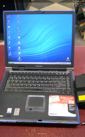 "15"" TOSHIBA Laptop Computer XP AS-IS for Sale in Columbus, OH"