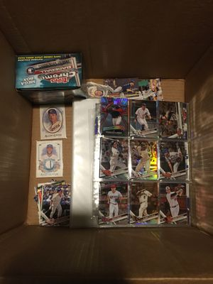 Mother load of over 2 years of collecting baseball cards for Sale in West Long Branch, NJ