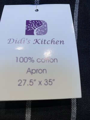 100% Cotton Apron by Didi's Kitchen NEW / UNUSED for Sale in Lakeside, CA