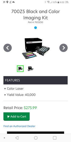 Lexmark 700z5 imaging kit for Sale in Pittsburgh, PA