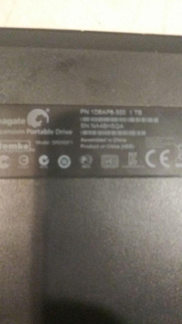 1TB External HD