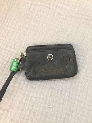 COACH black wristlet/wallet $30 for Sale in Miami, FL
