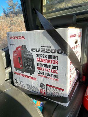 Honda EU2200i super quiet generator for Sale in Portland, OR