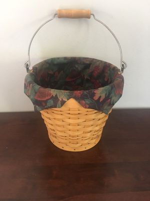 Longaberger Autumn Pail Basket for Sale in Huber Heights, OH