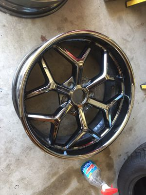 """22"""" rims SCA Chevy truck fronts for Sale in Menifee, CA"""