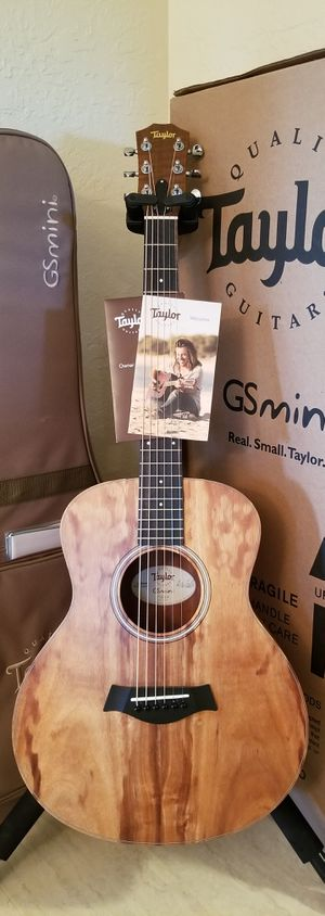 TaylorGS Mini Koa Acoustic-Electric Guitar - Like New! - Trades? for Sale in Woodburn, OR