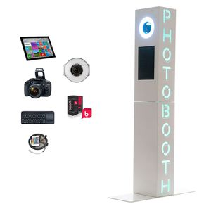 Photobooth Photo Booth Business with Printer and Props for Sale in Las Vegas, NV
