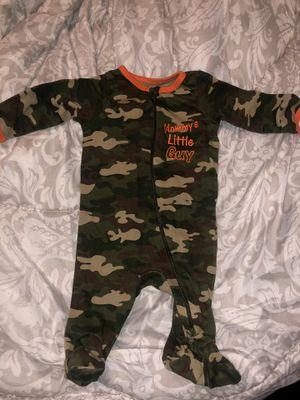 Baby camo onesie for Sale in Reedley, CA