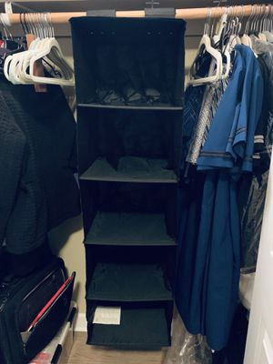 Hanging shelf closet organizer for Sale in Chicago, IL