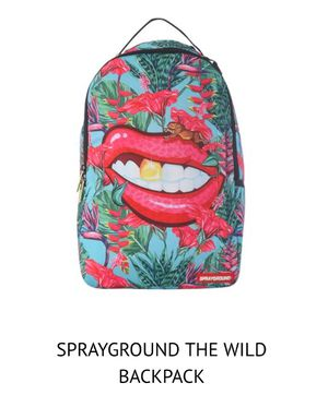 Sprayground backpack the wild Lips for Sale in Charlotte, NC