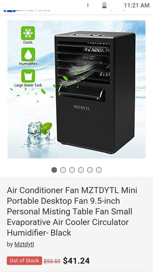 Portable air conditioner for Sale in Kingsport, TN