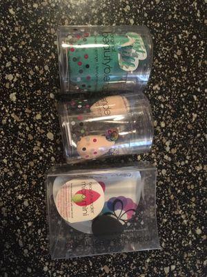 Unused 1 Beauty Blender and 3 Micro Mini Beauty Blenders for Sale in San Diego, CA