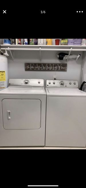 Maytag was her and dryer combo!!brand new condition !! for Sale in Hialeah, FL