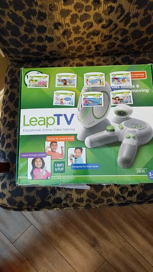 LeapTV with 7 games for Sale in Jonesboro, AR
