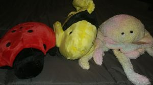 TY beanie buddy stuffed animals ladybug octopus fish stuffed animals for Sale in Plano, TX