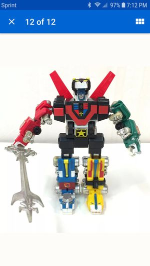 Voltron motorized from the 80s for Sale in Phoenix, AZ