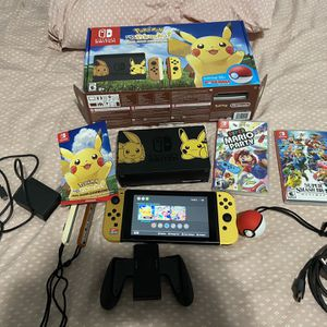 Nintindo Limited Edition Pokémon Switch for Sale in Elgin, IL