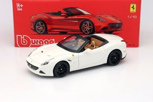 Ferrari California T open top 1/18 diecast by Bburago signature series Rare, toy car/collectible Christmas gift for Sale in Carlsbad, CA