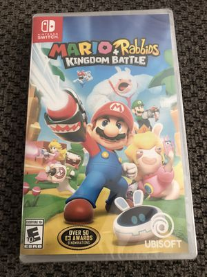 Brand New - Mario + Rabbids Kingdom Battle - Nintendo Switch for Sale in Fairlawn, OH