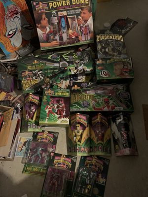Power Ranger 90s toy collection lot for Sale in San Antonio, TX