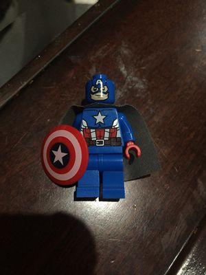 Captain america minifig lego for Sale in Garden Grove, CA