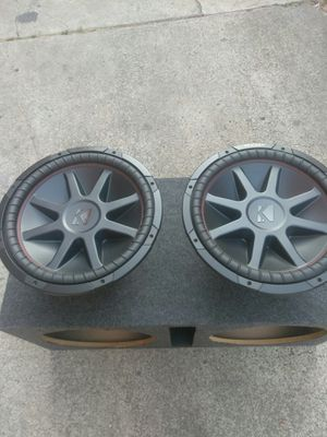 NEW 15IN KICKERS SUBS and BOX for Sale in Oakland, CA