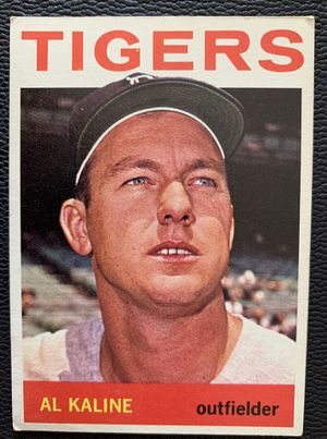 1964 Al Kaline Topps Baseball Card # 250 Detroit Tigers for Sale in Placentia, CA