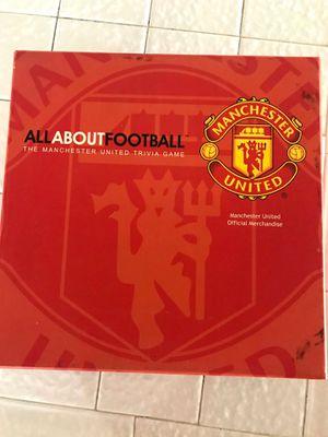 Manchester United FC Board Game for Sale in San Gabriel, CA