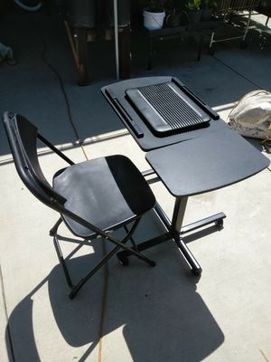 Laptop desk and chair for Sale in Fontana, CA