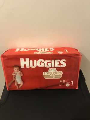 Huggies size 1 for Sale in Schaumburg, IL