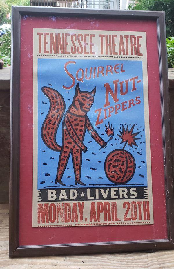concert framed poster