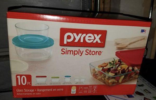 Pyrex Simply Store 10 pcs.