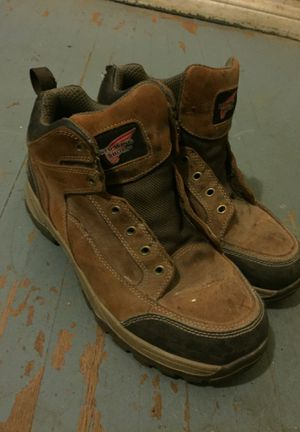 Red Wing Work Boots Size 9 for Sale in Garden Grove, CA